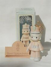 1994 Precious Moments Ornament Onward Christmas Soldiers