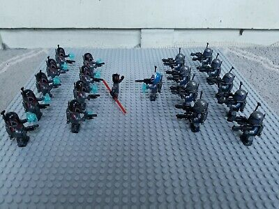 Lot Of 10 Maul with Super Commando Minifigures FREE US SHIPPING *See Photos*