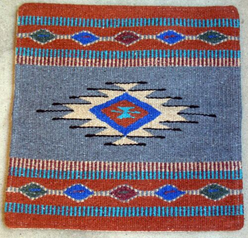 Aztec Pillow Cover HAPCAzt-J Hand Woven Acrylic Southwest Southwestern 18X18