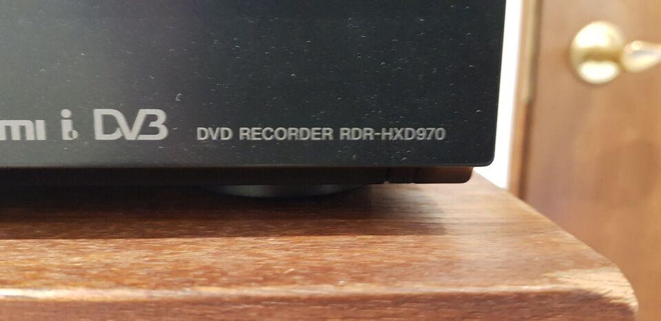 Sony, RDR-HXD970, Harddisk/dvd-optager
