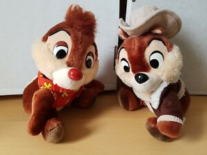 vintage disney chip and dale plush soft toys rescue rangers 9