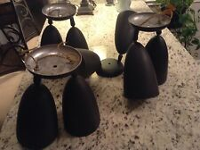 4 Beautiful Vintage Prescolite Double Swivel Light $300