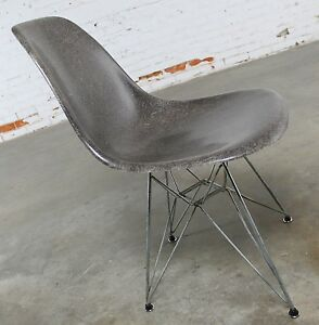 Image is loading Vintage-Mid-Century-Modern-Herman-Miller-Eames-DSR- : dsr chair - Cheerinfomania.Com