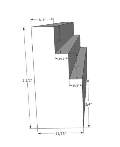 "Floater Frame Picture Frame 3-pack 24x48/"" 1.5/"" Deep"