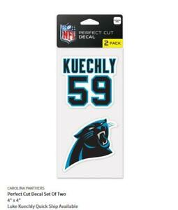 Luke-Kuechly-Carolina-Panthers-2-Aufkleber-Decal-Badge-Emblem-NFL-Football