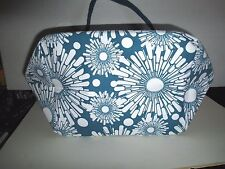 The Shopper - Blue Green Moda Large Tote Bag for Shopping or Everyday 8 x 12 x 5