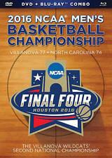 2016 NCAA Mens Basketball Championship BLU-RAY + DVD COMBO NEW SEALED