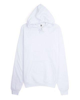 American Apparel California Fleece Hoodie, Unisex Hooded Sweatshirt, Men's XS-2X