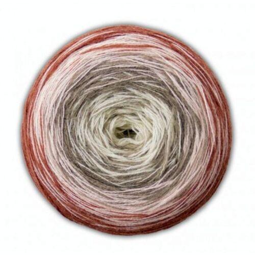 105 Woolly Hugs Bobbel Merino 200g  Veronika Hug mit Anleitung Farbverlauf Nr