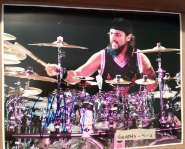 MIKE PORTNOY SIGNED 11 x 14 DREAM THEATER AUTOGRAPH COA WINERY DOGS