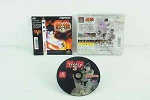 USED-PS1-PS-PlayStation-1-Tekken-3-10475-Japan-import