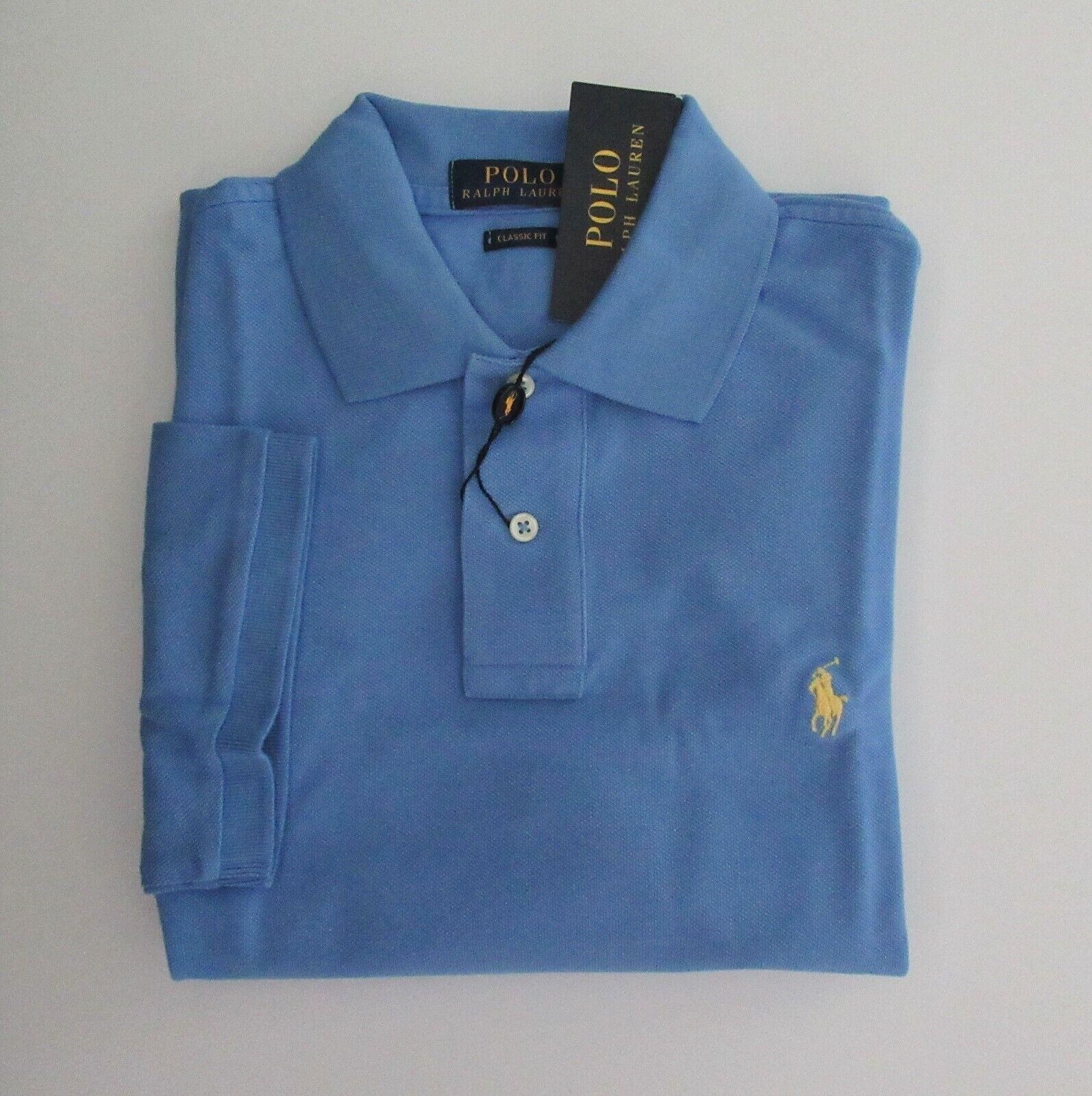 NWT Ralph Lauren Mens Short Sleeve Classic Mesh Polo Shirt Sz XXL 2XL NEW $85