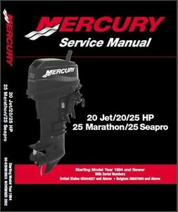 Mercury 20 Hp Outboard