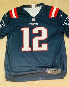 Tom Brady Nike Jersey XL Color Rush replica   eBay