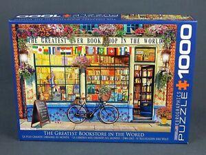 Eurographics Jigsaw Puzzle 1000 Piece -Worlds Greatest Bookstore EG60005351