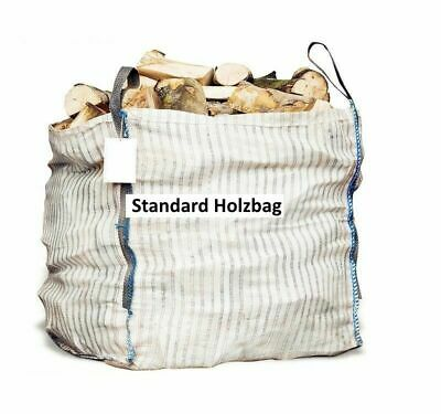 Woodbag Holzbag 100x100x120cm Big Bag mit Sternboden Brennholz   5 Stück