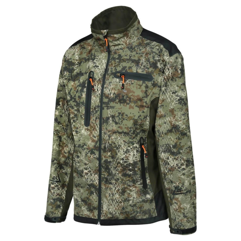 Ligne Verney Carron Softshell chaqueta Snake Forest caza señores caza chaqueta Camou