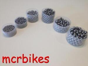 "WELDTITE BIKE BICYCLE LOOSE BALL BEARINGS BAG 1//8/"" 5//32/"" 3//16/"" 7//32/"" 1//4/"""