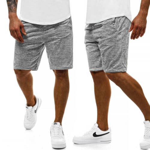 Pantaloni Corto Pantaloni Sportivi Jogging Fitness tinta Pantaloncini Sport Uomo OZONEE js//yy001