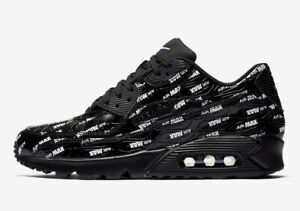 Details about Nike Air Max 90 PRM Just Do It Black White Size 10.5. 700155 015 1 95 97 98