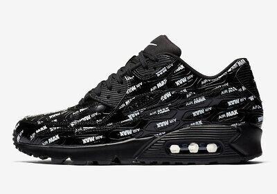 Nike Air Max 90 PRM Just Do It Black White Size 10.5. 700155 015 1 95 97 98 | eBay