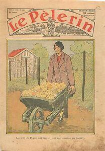 Easter-eggs-Poulailler-Oeufs-de-Paques-Brouette-Fermiere-Poussins-Ferme-1933