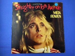 Mick-Ronson-SLAUGHTER-ON-10TH-AVENUE-LP-Vinyl-Record-Album-1974-RCA-Records