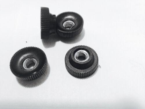 Rändelmutter Gewinde Stahl verz durchgängig im 10-er Pack div Grössen