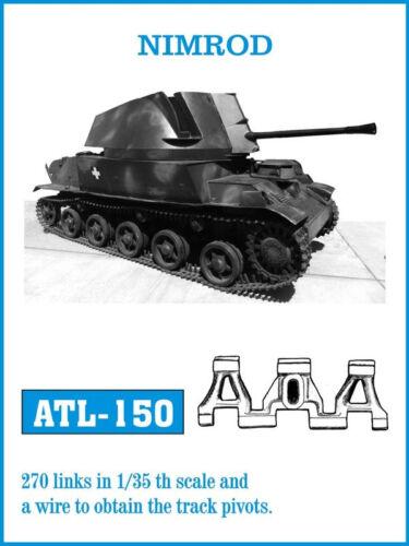 1//35 FRIULMODEL ATL-150 METAL TRACK FOR HUNGARIAN NIMROD  for HOBBY BOSS Kit