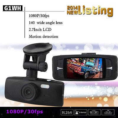 1080P CAR Dash Cam Vehicle Video Camera Recorder DVR G-sensor Night Vision FHD