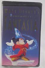 WALT DISNEY'S FANTASIA MASTERPIECE VHS 1991 Christmas Lead 08/20/91