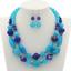 Fashion-Women-Crystal-Necklace-Bib-Choker-Pendant-Statement-Chunky-Charm-Jewelry thumbnail 81