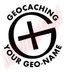 PICK-COLOR-SIZE-CUSTOM-Geocache-Symbol-Logo-Vinyl-Decal-Window-Glass-Sticker