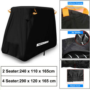 2-4-Passengers-Golf-Cart-Cover-Rain-Protector-Storage-Fits-EZ-GO-Club-Car-Yamaha