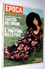 EPOCA anno 1971  Monica Vitti - Trevor Francis - Sean Connery - Pugile Monzon