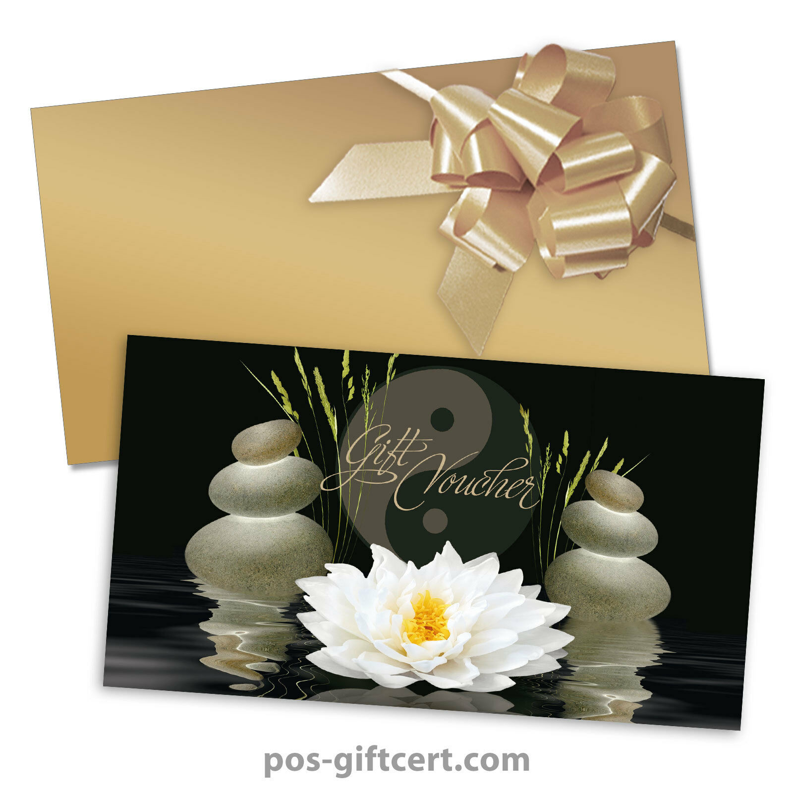 Gift vouchers  envelopes  pull bows for physiotherapy, massage, spa MA1229GB | Attraktiv Und Langlebig