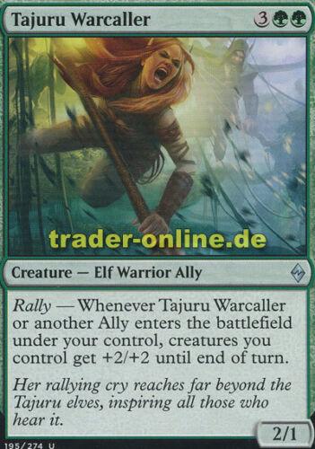 2x Tajuru Warcaller Tajuru-Kriegssängerin Battle for Zendikar Magic