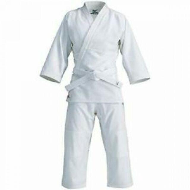 MIZUNO Judo clothing top pants obi set Size 175-180 cm from Japan 5585