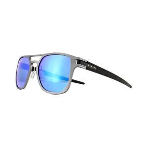 3bb947567a Image is loading Oakley-Sunglasses-Latch-Alpha-OO4128-04-Matte-Gunmetal-