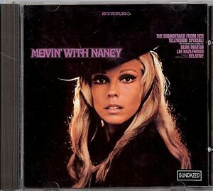 NANCY SINATRA - MOVIN' WITH NANCY CD 1996 SUNDAZED BONUS - Italia - NANCY SINATRA - MOVIN' WITH NANCY CD 1996 SUNDAZED BONUS - Italia