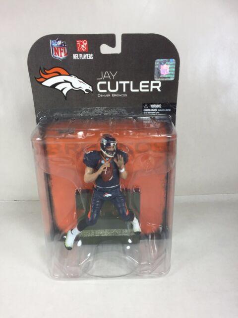 2008 McFarlane Jay Cutler Denver Broncos Figure (MINOR SHELF WEAR)