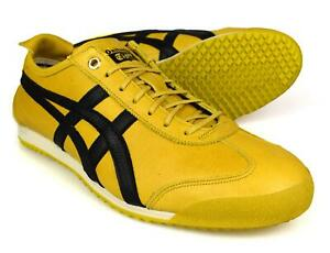 onitsuka tiger mexico 66 yellow black mens trainers azul