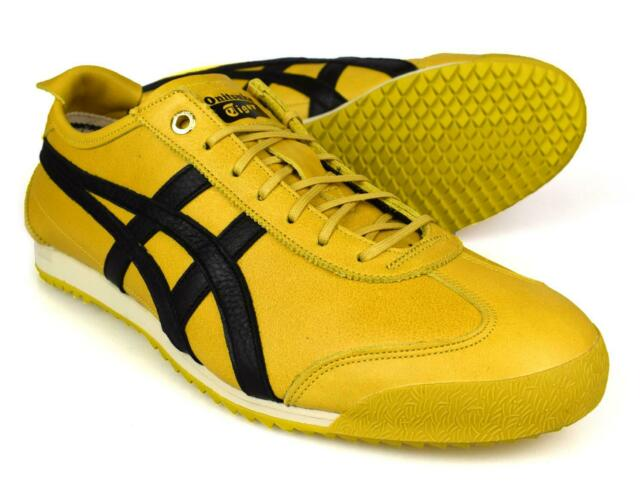 outlet store 9244b c292b Onitsuka Tiger Mexico 66 SD Super Deluxe Yellow Unisex Trainers D838L-0490