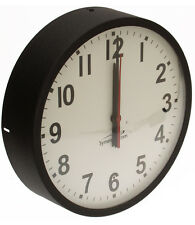 "Symmetricom Analog NTP Self-Setting 12"" Wall Clock Internet Time Microsemi"