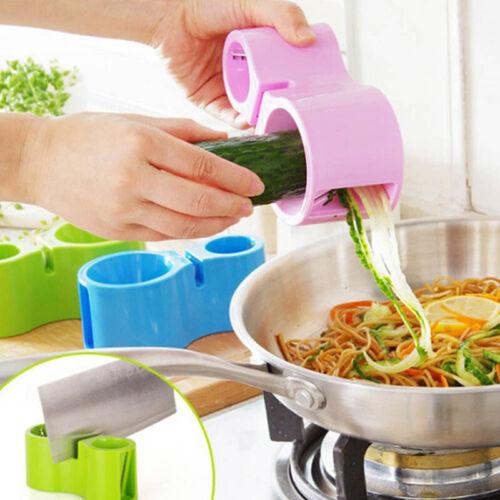 Spiralizer améliorée Spirale Trancheuse légumes Cutter Maison Cuisine outil 4 Couleurs