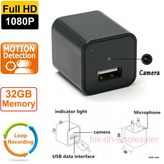 2020 NEW UX-16 Scout USB Camera HD1080p GENUINE Hidden DVR Surveillance CIA FBI
