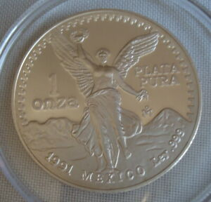 1991 Onza Silver Proof Uncirculated
