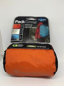 Sea to Summit Ultra-Sil Pack Cover Small 30-50 Liters Red New