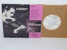 "CLEBANOFF STRINGS Songs From Great Films 7"" 45 EP Mercury MEP-75 promo NM PS"