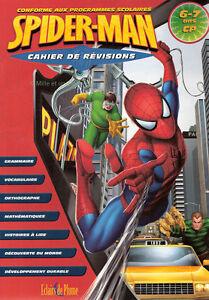 Cahier-de-Revision-Spider-Man-6-7-Ans-CP-Conforme-aux-programmes